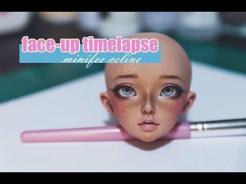 BJD Face-Up Process - Minifee Celine