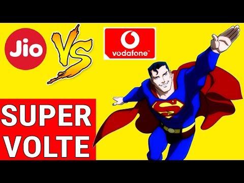 JIO & Airtel vs VODAFONE Super VOLTE Launch in INDIA