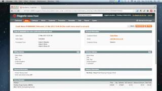 Magento - How to do an adjustment refund