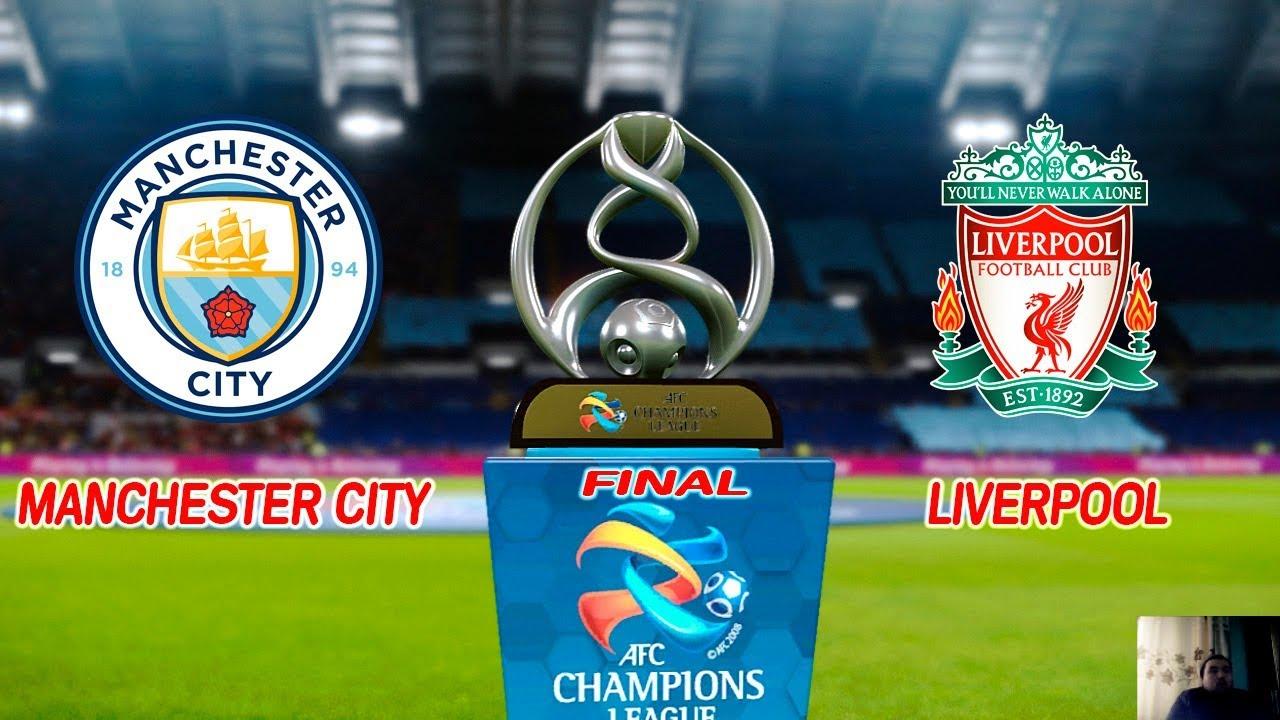 PES 2020 | MANCHESTER CITY VS LIVERPOOL | FINAL UEFA ...