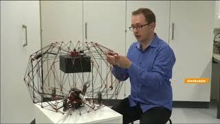 Доставка дроном: защита пакета, перевозит до 50 кг