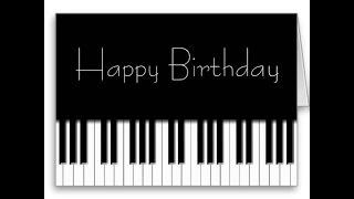 Happy Birthday to You! С Днём рождения! #Простаямелодиянапианино.