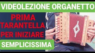 Learn the organ immediately  simple song (first tarantella)