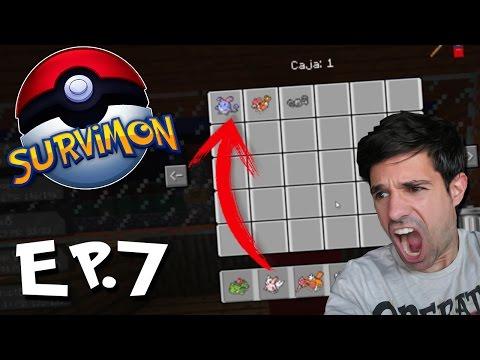 MIS POKEMON USAN HACKS | SURVIMON Pokémon En Minecraft | Episodio 7