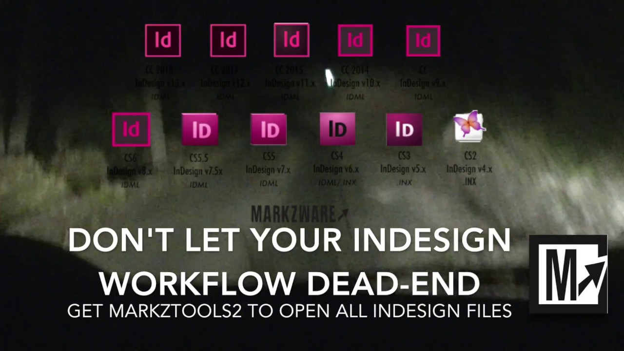 How to Convert InDesign CC 2018 Files to IDML without Creative Cloud