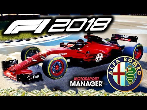 BRAND NEW CAR! but.......Pre-Season issues?! - F1 2018 Alfa Romeo Manager Career Part 32