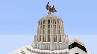 MINECRAFT GERMANIA GREAT HALL complet