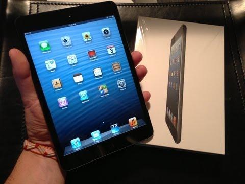 NEW Apple iPad Mini (2012) Unboxing and First Look 16GB Black WiFi