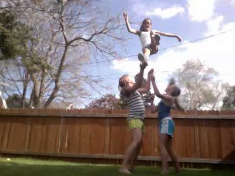 3 Person Cheer Routine