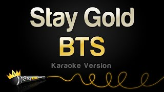 Baixar BTS - Stay Gold (Karaoke Version)