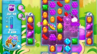 Candy Crush Soda Saga level 326 (No boosters)