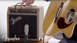 Fender Acoustasonic™ 15 Amplifier | In-Depth Look | Fender