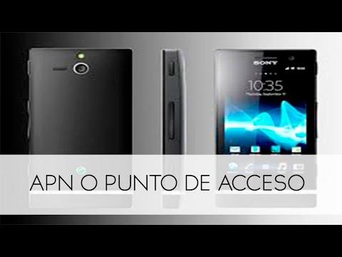 Sony Xperia U Como Configurar APN Internet Movistar Colombia