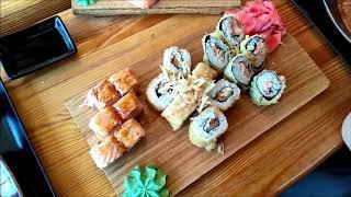 Москва! В гостях ! Обзор ресторана суши «Тануки»