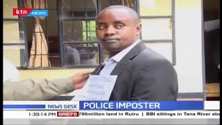 Migori Police arrest imposter purporting to be a CID officer