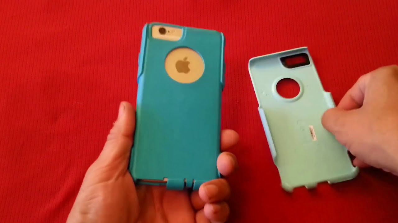 How to remove and install OtterBox Commuter case - YouTube