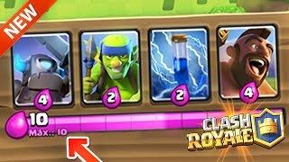 ¡¡COMO Tener ELIXIR INFINITO En Clash Royale!! MAZO 2.8 De Clash Royale