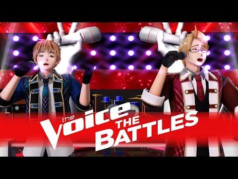 "[MMD] Hetalia The Voice 2016 Battle - Arthur Kirkland vs. Alfred F. Jones: ""Hurt"""