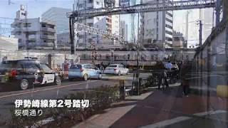 東武 高架化工事・スカイツリー付近(2019.12.24)