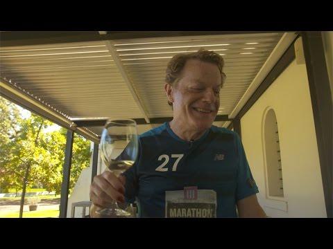 Wine tasting on a marathon run - Eddie Izzard: Marathon Man - BBC Three