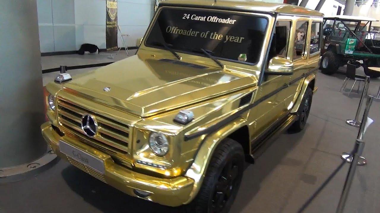 Mercedes benz g class g wagon g350 bluetec gold 24 for Buy mercedes benz g class
