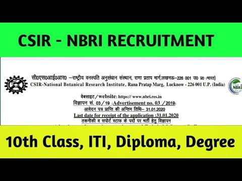 csir---nbri-recruitment