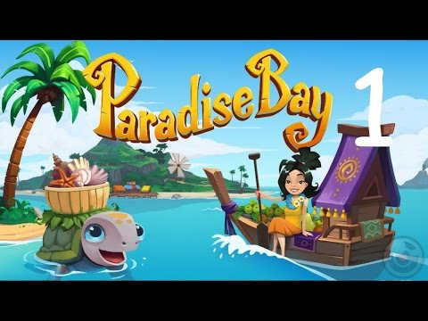 Paradise Bay Version 1.0.0 (by King.com Limited) Part 1 iOS/Andriod Trailer  HD Gameplay