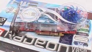 555 his x850xt pe x850xt vivo 256mb agp video cards