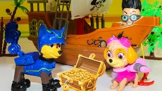 Мультики Щенячий патруль все серии подряд Развивающие мультфильмы про игрушки Paw Patrol для детей