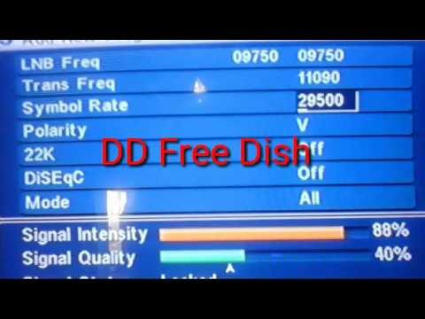 All dth free stb setting