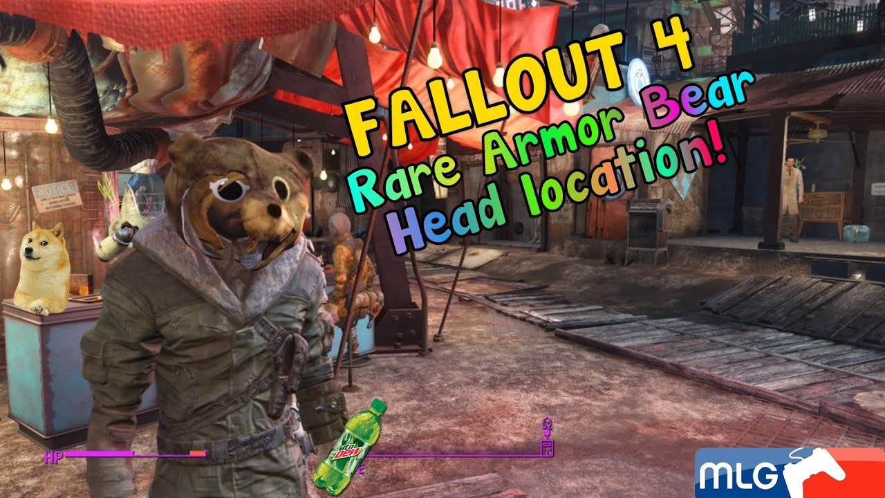 fallout 4 how to get teddy bear mask