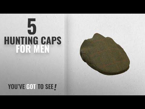 Top 10 Hunting Caps For Men [2018]: Walker & Hawkes - Uni-Sex Derby Tweed Flat Cap Hunting Shooting