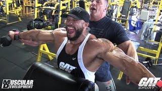 Sergio Oliva Jr. Training Series sponsored by GAT   Shoulder Workout