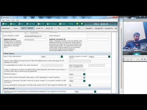 how-to-fill-tax-return-with-pre-filled-xml-data-|-ay-2018-19