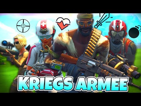 Die KRIEGS ARMEE Challenge!? 😂 | Fortnite Battle Royale