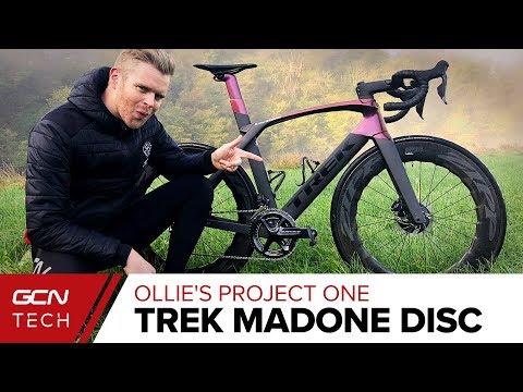Ollie's Project One Trek Madone Disc Presenter Bike