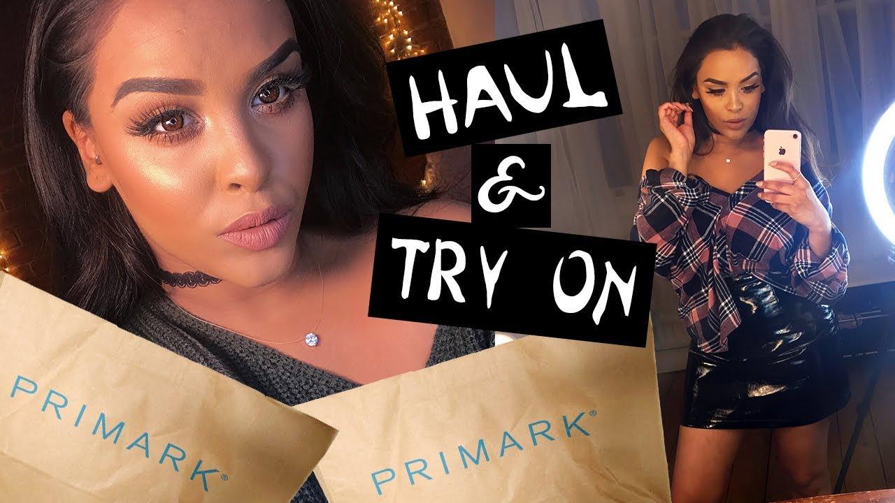 HUGE PRIMARK HAUL & TRY ON WINTER LOOKBOOK  NikkisSecretx