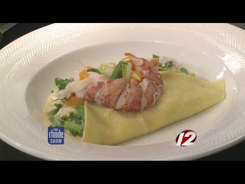 In The Kitchen: Lobster Ravioli