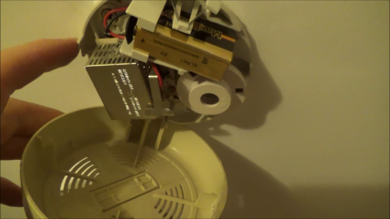 How To Change The Battery In Various Smoke Alarms Detectors Youtube Wiring Uk