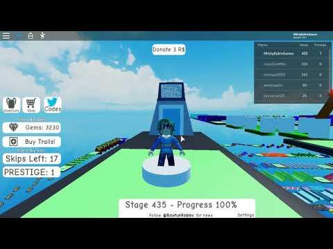 Roblox Mega Fun Obby 2 Codes July 2020