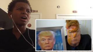 HowToBasic- How to make Donald Trumps Hair Style (Reaction)