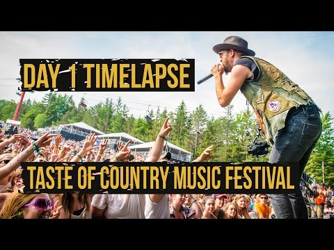 Taste of Country Music Festival, Day 1 Under 60 Seconds