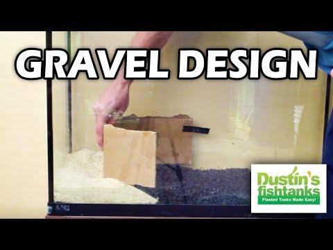 Substrate & gravel design in the Planted aquarium  2 different types (2 of 4)