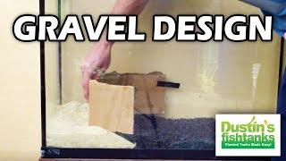 How to: Planted aquarium substrate & gravel design. 2 different types (2 of 4)