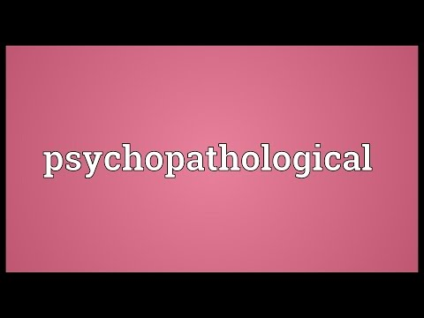 Header of psychopathological