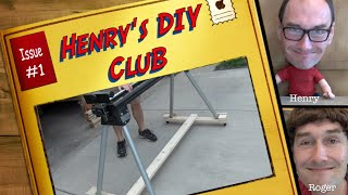 Project: Dolly For A Mitre Saw Stand (henry's Diy Club #1)