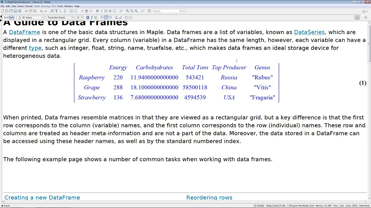A Guide to DataFrames - YouTube