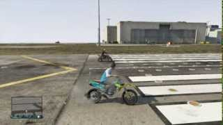 GTA 5 Drag Race Dirt Bike vs Quad Bike