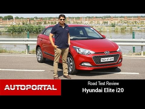 Hyundai Elite i20 Test Drive Review - Autoportal