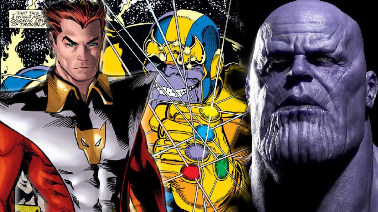 The Eternals Characters Revealed! Thanos's Brother Starfox?! - YouTube